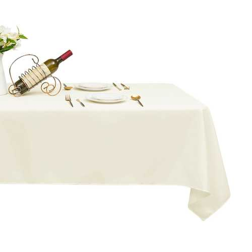 "10 pcs 60"" x 102"" Rectangle Polyester Tablecloth"