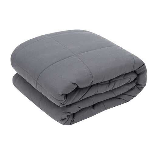 """60"""" x 80"""" Home Crystal Velvet Fabric Weighted Blanket-15 lbs"""