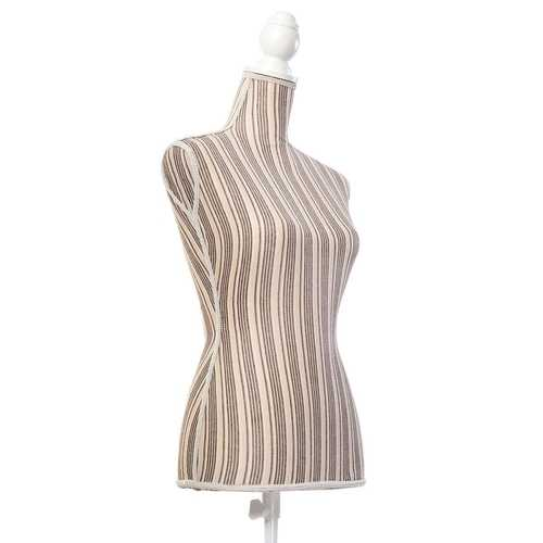 Female Mannequin Torso Form Display with Tripod Stand
