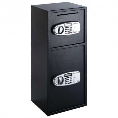 Digital Safe Box with 2 Doors