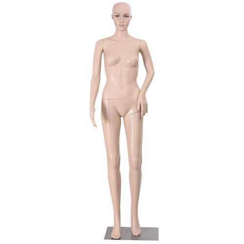 Female Mannequin Plastic Realistic Display with Base