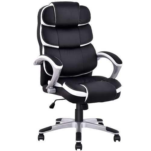 Ergonomic PU Leather High Back Computer Chair