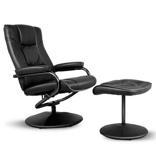 Swivel Lounge Chair Recliner with Ottoman