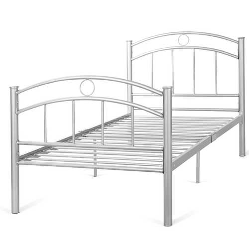 "44.2 lbs 83"" x 42"" x 35"" Twin Size Metal Bed Frame"