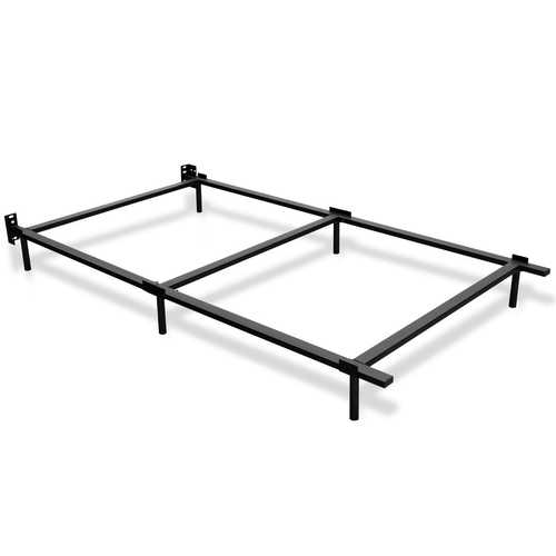"70"" x 38"" x 7"" Twin Size Folding Steel Bed Frame"