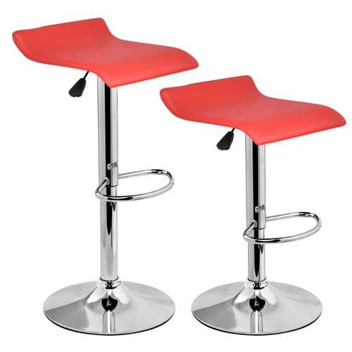 Set of 2 Modern Bar Stools Dinning Counter Chairs
