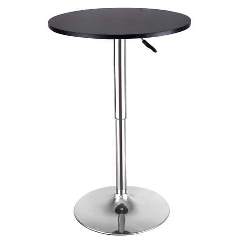2 pcs Height Adjustable Round Bar Tables