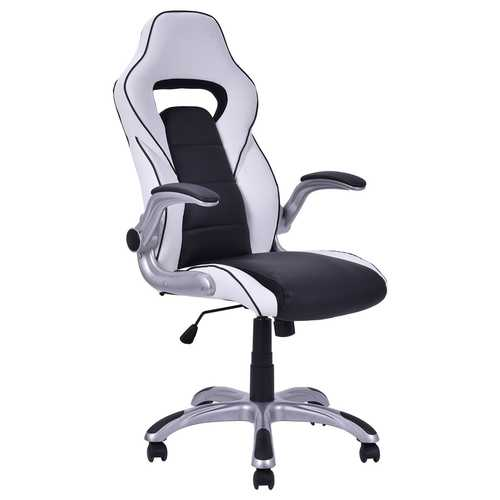 Executive Racing Style Gaming Chair with Adjustable Armrest