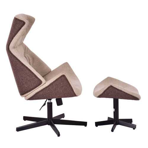 Executive Lounge Leisure Chair with Ottoman