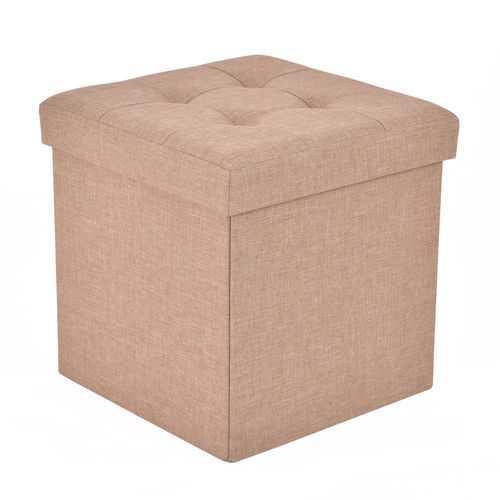 Cube Folding Ottoman Storage Seat