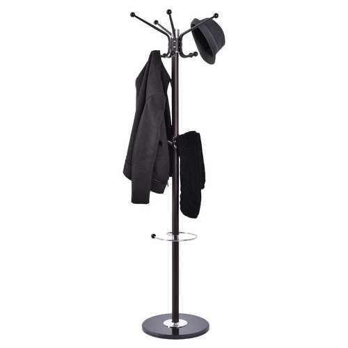 """67"""" Metal Coat Hat Jacket Stand"""