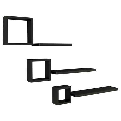 Set of 6 Home Display Floating Wall Mounted Shelves