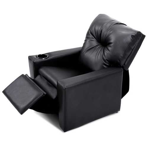 Ergonomic Lounge Kids Sofa with Cup Holder