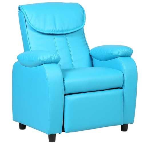 Kid Recliner Sofa Armrest Chair