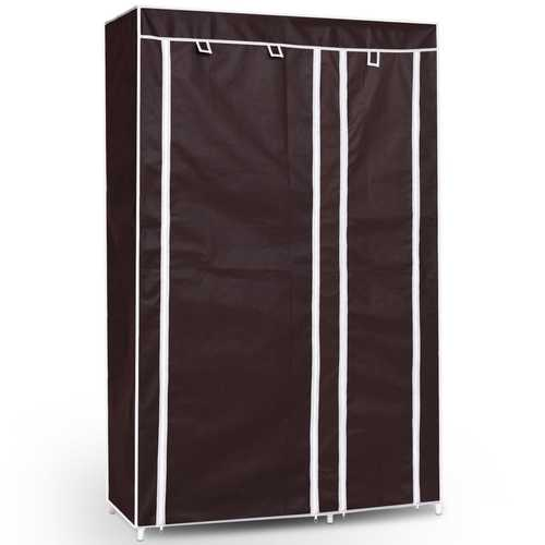 "69"" Portable Closet Storage Organizer Clothes Wardrobe"