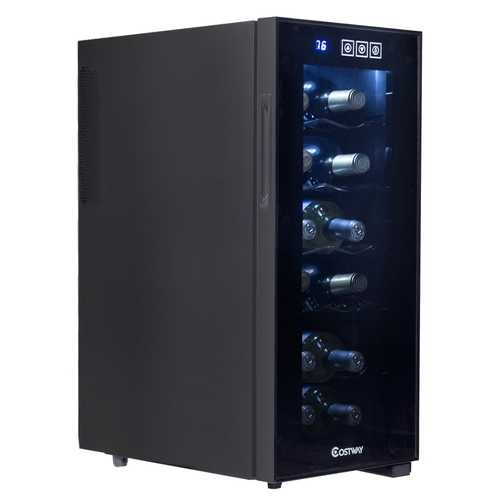 12 Bottle Standing Thermoelectric Wine Cooler