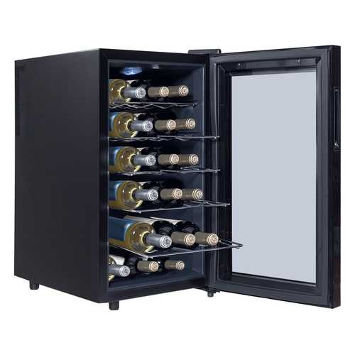 18 Bottle Freestanding Thermoelectric Wine Cooler
