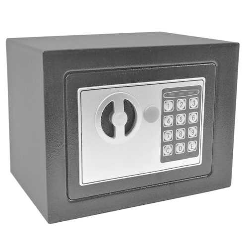 Small Black Digital Electronic Safe Box