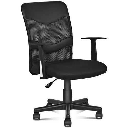 Modern Ergonomic Mesh Mid-Back Office Chair