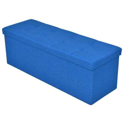 """43"""" Comfortable Foldable Storable MDF Ottoman"""
