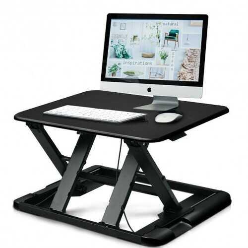 Slim 8 Adjustable Standing Folding Lap Desk-Black