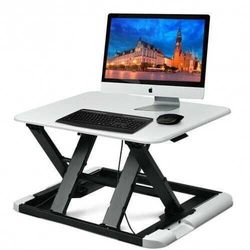 Slim 8 Adjustable Standing Folding Lap Desk-White