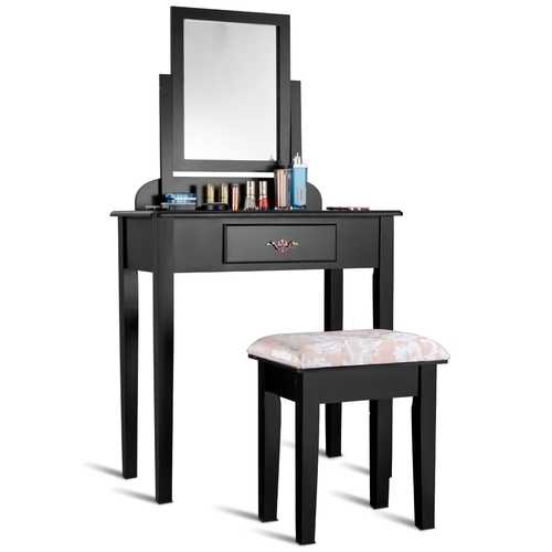 Makeup Desk Vanity Dressing Table Set