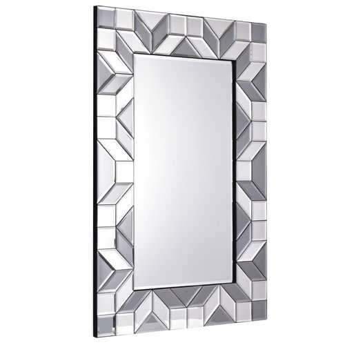 "23.5"" x 35.5"" Rectangular Wall-Mounted Vanity Glass Mirror"