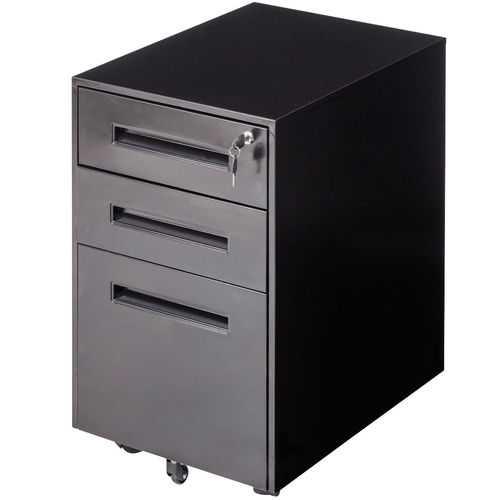 Metal Rolling Sliding Drawer A4 File Cabinet
