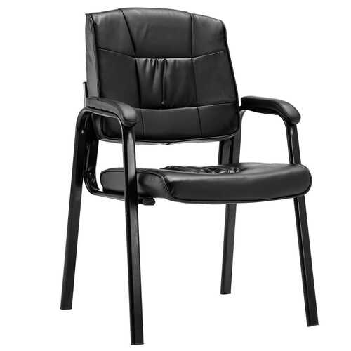 2 pcs PU Meeting Conference Arm Chair