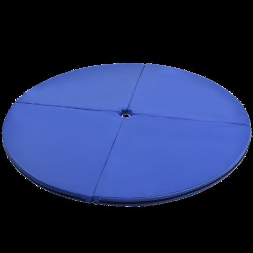 "2"" Foldable Pole Dance Yoga Exercise Safety Cushion Mat-Blue - Color: Blue"