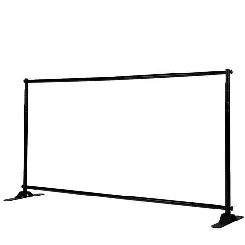 11 1/2' x 8' Banner Stand Adjustable Telescopic Trade Show Wall Display