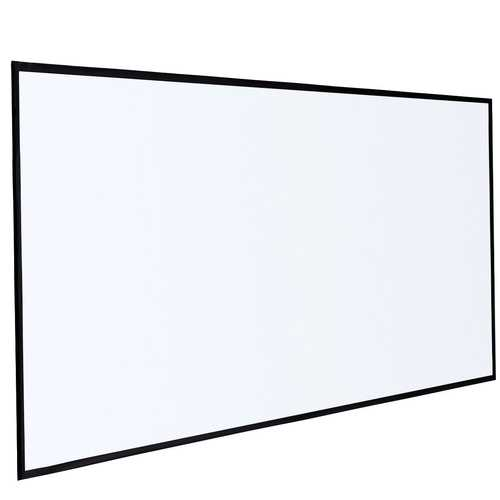 """120"""" 16:9 Roll Easily PVC Fabric Home Portable Projector Screen"""