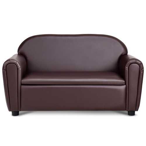 Kids Sofa Armrest Chair w/ Storage Function