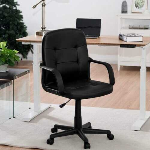 Ergonomic Mid-back Executive Office Chair Swivel Computer Chair
