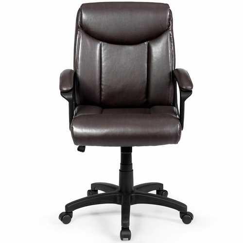 Ergonomic PU Leather Executive Office Chair