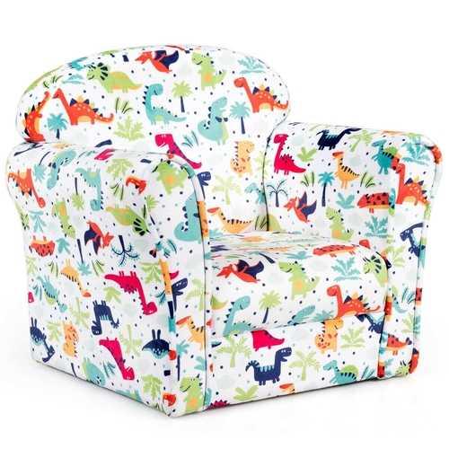 Toddler Children Armrest Cute Lovely Single Sofa