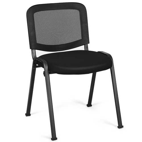 Set of 5 Mesh Back Office Conference Chairs