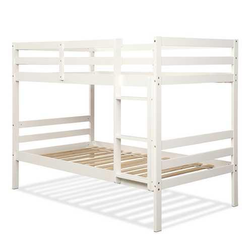 Twin Bunk Bed Children Wooden Bunk Beds Solid Hardwood