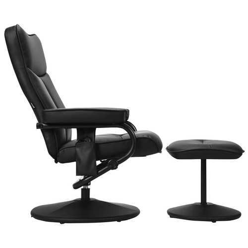 """Electric Massage Recliner Chair with Ottoman and Remote Control - Size: 31.5"""" x (31.5"""" - 41.5"""") x (36.5"""" - 40.5"""")"""