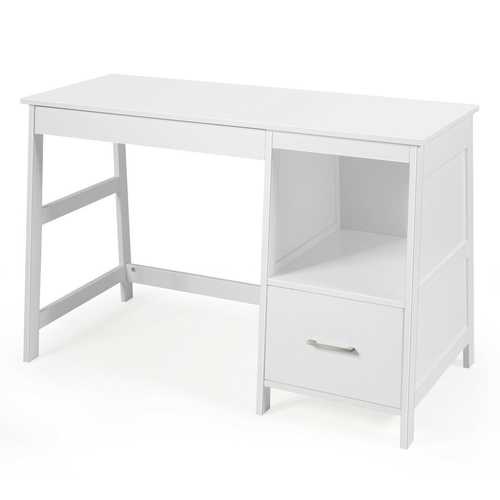 "47.5"" Modern Home Computer Desk with 2 Storage Drawers"
