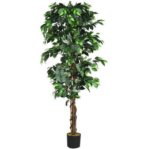 6 Feet Artificial Ficus In/Outdoor Home Tree