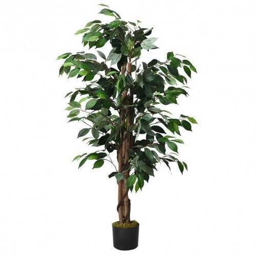 4 Feet In/Outdoor Trunks Artificial Ficus Silk Tree