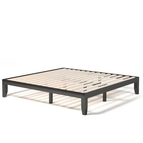 14 Inch King Size Wood Platform Bed Frame