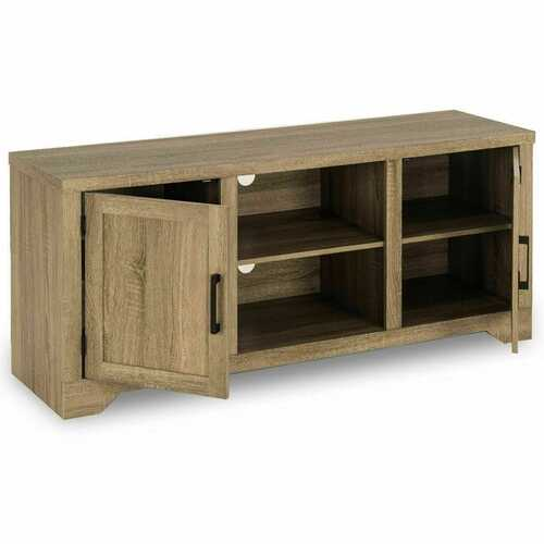 Rustic TV Stand  Entertainment Center Storage Cabinet