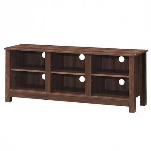 "60""  Entertainment TV Stand Cabinet-Brown"
