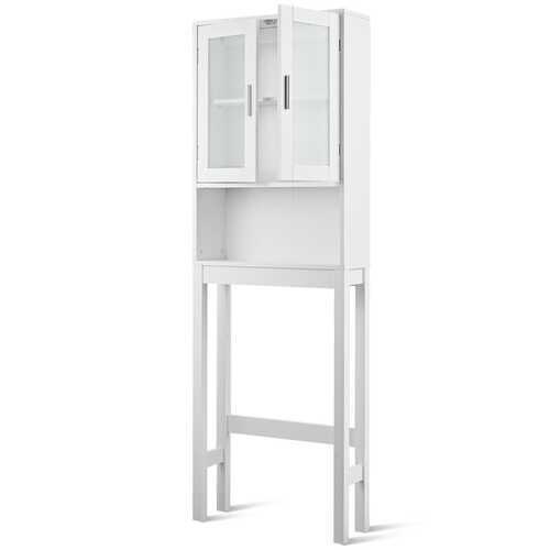 Bathroom Tower Storage Cabinet Organizer