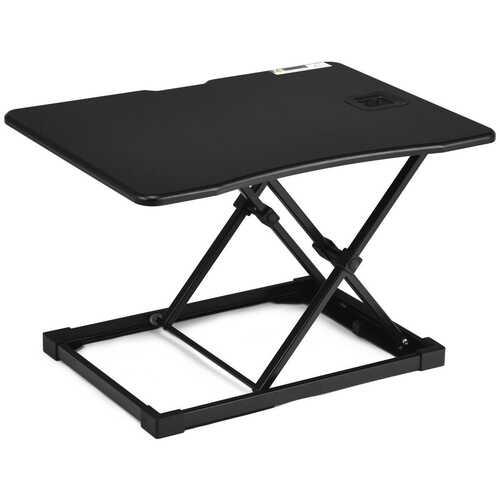 Height Adjustable Standing Computer Desk-Black