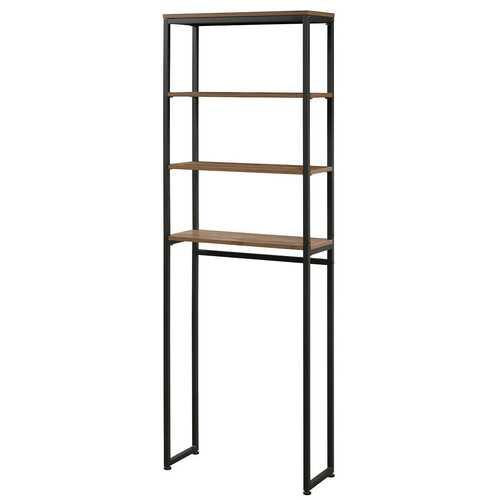 4-Tier Adjustable Bathroom Metal Storage Rack