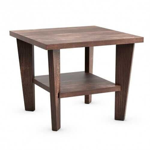 2-Tier Nightstand Space-Saving Side Sofa End Table